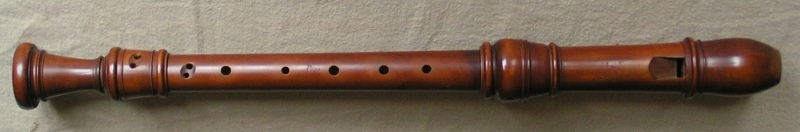 an alto recorder after Stanesby Junior