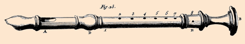 the recorder in Diderot & d'Alembert' Encyclopedia