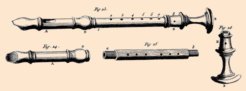 the recorder as seen by Diderot
